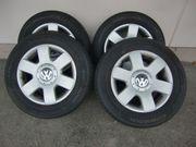 Sommer-Alu-Komplattradsatz für VW Caddy