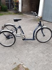 PFAU-Tec Dreirad blau mit tiefem