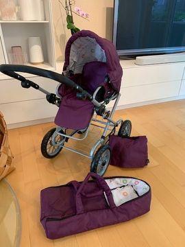 Puppen - Puppenwagen BRIO Premium Combi violett