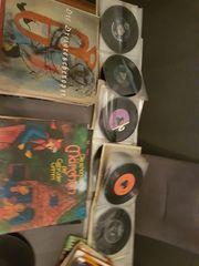 Schallplatten und Singles