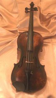 Geige Konzertgeige incl Koffer gebaut