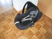 Maxi Cosi Pebble schwarz Babyschale