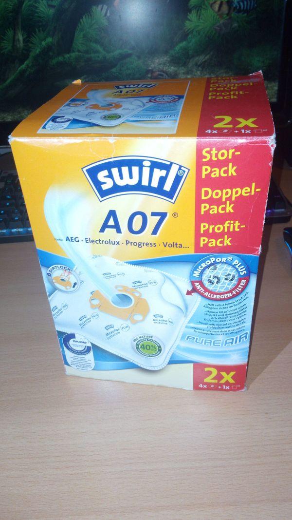 Swirl A07 Staubsaugerbeutel Doppelpack