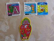 Schnickschnack 2 Sport-Sticker 3 Klebebilder