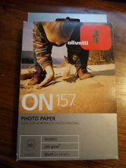 Olivetti on 157 Foto Papier