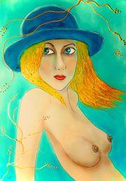 Marie Javorkova - Girl in blue