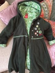 Mädchen Mantel lange Jacke sigikid