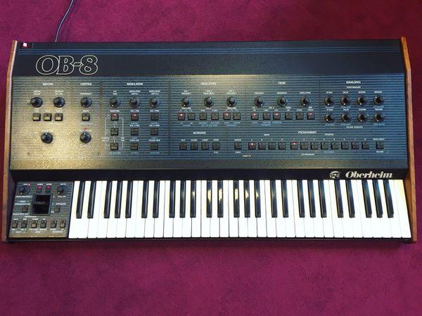 Oberheim OB-8 Vintage Synthesizer 80s