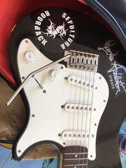 E - Gitarre