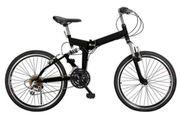 Falt - Fahrrad in schwarz
