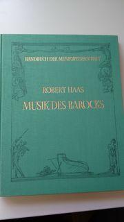 Buch Musik des Barocks