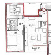 2 5 Zimmer Wohnung mit