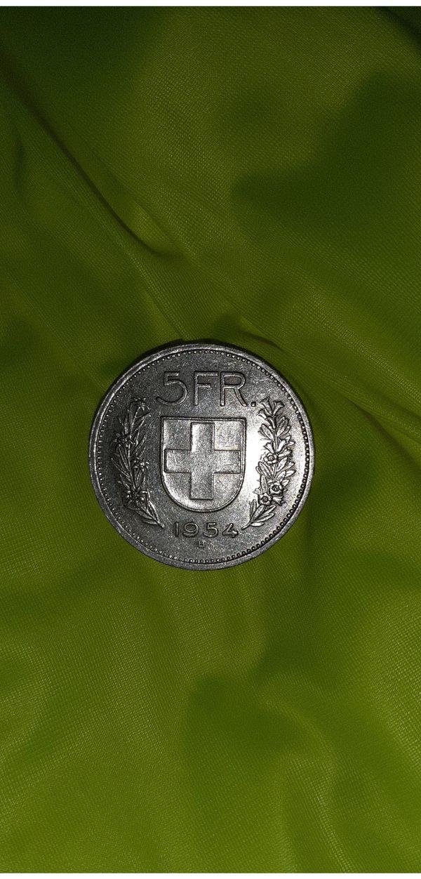 5-Franken Münze