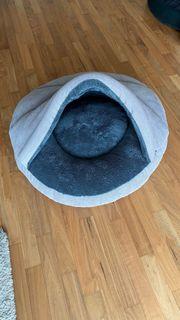 PadsForAll Hundehöhle Hundekorb Katzenhöhle anthrazit