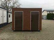 WC Container Sanitärcontainer Campingplatz Toilette