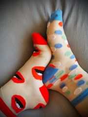 Nylon Socken getragen used nylon