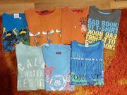 7 Jungen T-shirt Größe 122