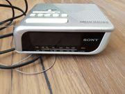 Sony FM AM Clock Radio