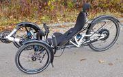 E-Liegerad Speed-Trike HP Velotech FS26