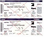 2 Nightwish Konzert-Karten Schleyer-Halle Stuttgart