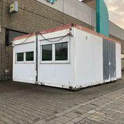 Bürocontainer Doppelcontaineranlage