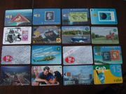 Sammler - Telefokarten 16 St Konvolut