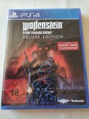 wolfenstein deluxe edition - ps4 sealed