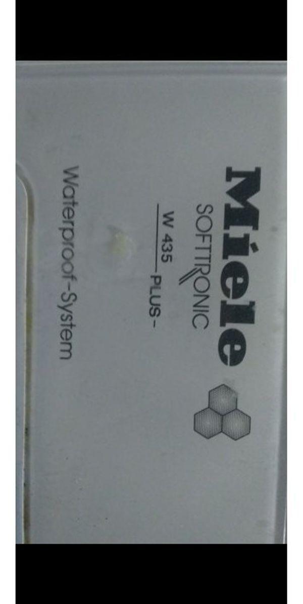 Miele W435 Plus Waschmaschine Ersatzteile