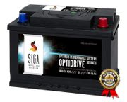 SIGA Autobatterie 80Ah 750A