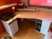 Eck-Schreibtischkombination