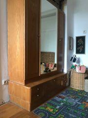 Kleiderschrank Spiegel Vintage Retro 40er