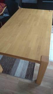 Echtholz Massivholz Tisch 160x90x75cm