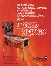 Road Kings Williams Pinball Flipperautomat