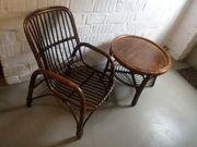 Rattan Sitzecke zu verkaufen Stuhl
