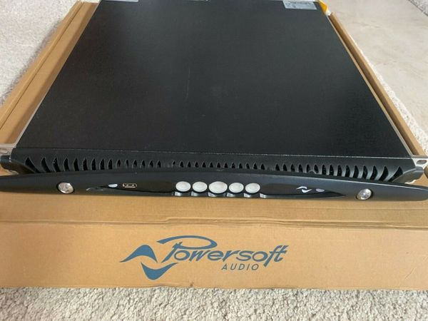 Powersoft X4 Dante Power Amplifier