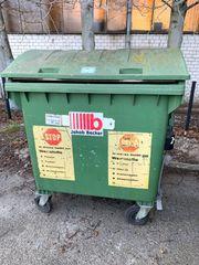 Müllcontainer 1100 Liter grün