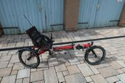 Hase Kettwiesel rot mit Rohloff