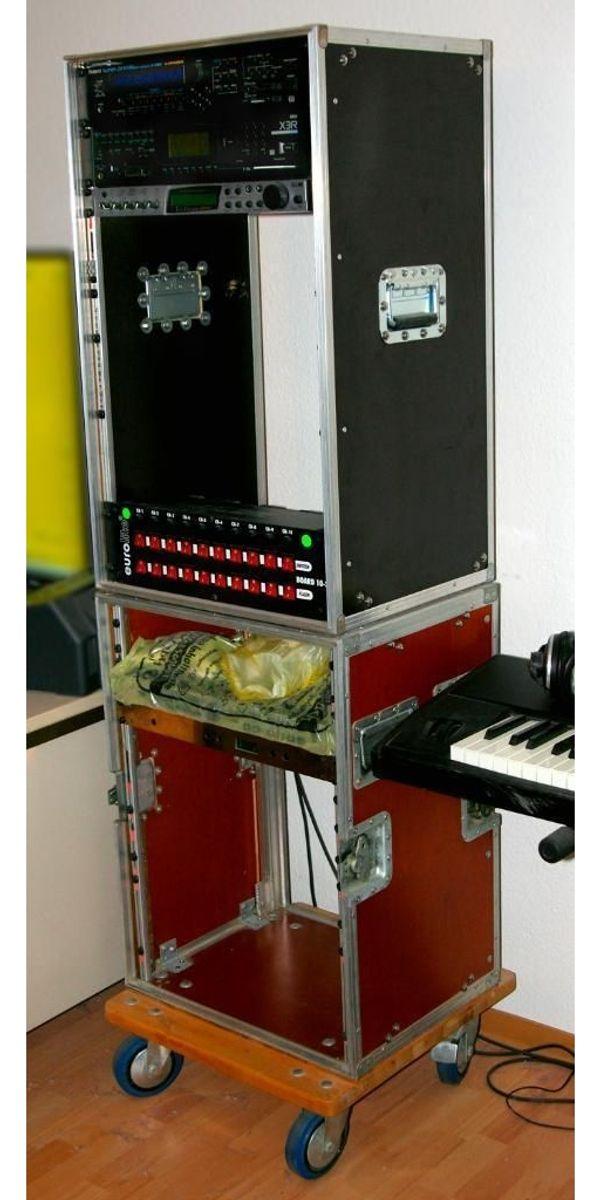 Case Tonstudio Rack-System Flightcase PA
