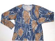 Oberteil Shirt Gr 36 blau