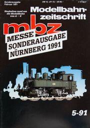 Modellbahn Zeitschrift MBZ Messe Sonderausgabe