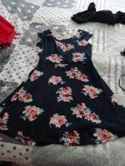 2sommer Kleider mit Blume Muster