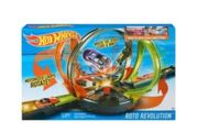 Mattel Hot Wheels Mega-Looping Crashbahn