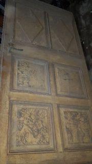 Kasetten Tür altes Eingangstür Zimmer