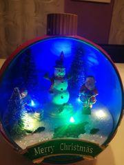 Weihnachtsdeko mit LED