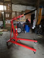 Werkstattkran Motorheber 2t mit Balancierer