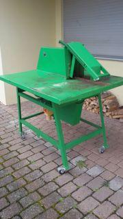 Tischkreissäge für Brennholz