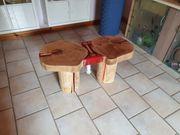 Baumscheiben Tisch abzugeben