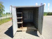 Materialcontainer Baucontainer Werkzeugcontainer Container
