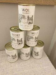 Hundefutter Nassfutter Wolf of Wilderness