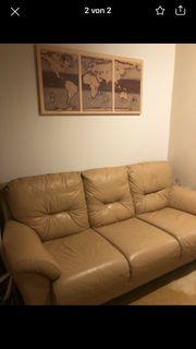 Sofa in Lederoptik